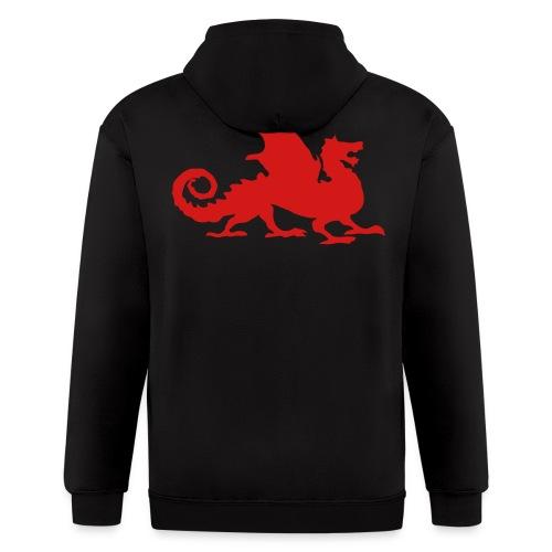 Men's Dragon Hoodie - Men's Zip Hoodie