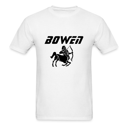 White Bowen Sagittarius T - Men's T-Shirt