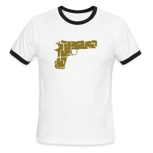 sAysI Gunner Tee - Men's Ringer T-Shirt