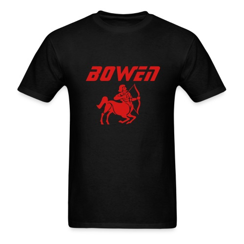 Black Bowen Sagittarius T - Men's T-Shirt