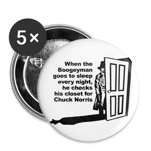 Boogeyman pins - Large Buttons