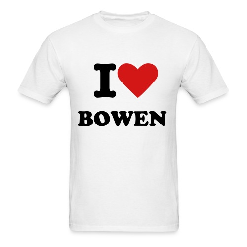 I LOVE BOWEN T-SHIRT - Men's T-Shirt