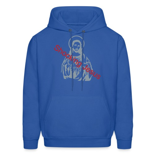 shocking jesus - Men's Hoodie