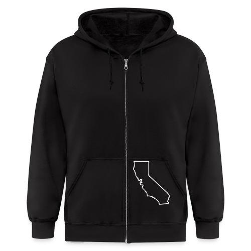 Project Lost State Hoodie - Men's Zip Hoodie