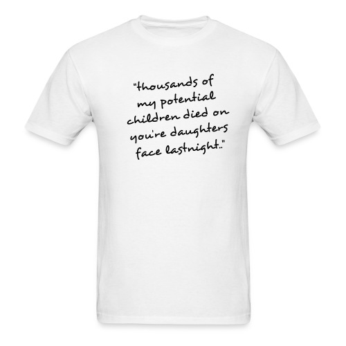 Thousands../White-Black - Men's T-Shirt