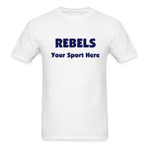 Rebels Athletics T-Shirt - Men's T-Shirt