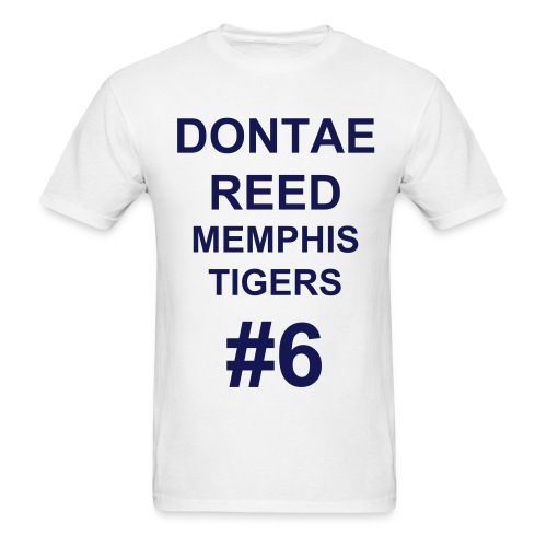 Men's T-Shirt - MENS SHORT SLEEVE WHITE TEE, TIGERS #6