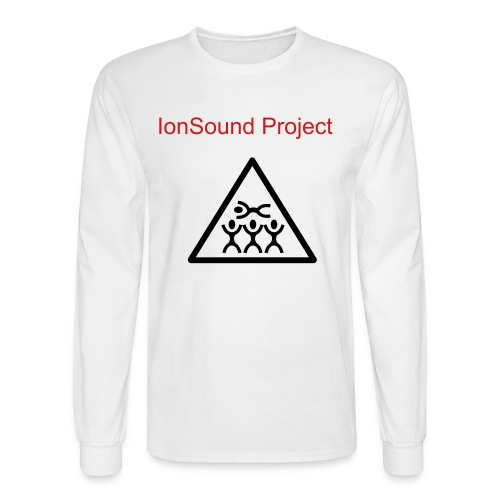 IonSound Crowd Surfing T - Men's Long Sleeve T-Shirt