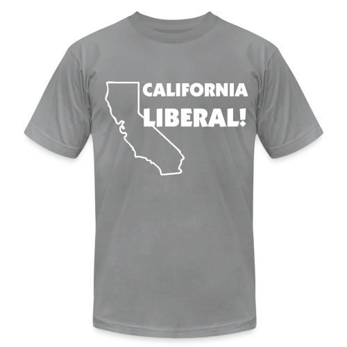 California Liberal! - Men's Fine Jersey T-Shirt