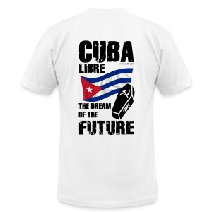 fidel castro t-shirt - Men's T-Shirt by American Apparel