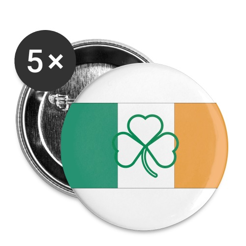 Irish Buttons---Support the Leprechauns! - Large Buttons