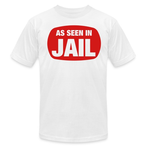As Seen in Jail - Men's  Jersey T-Shirt