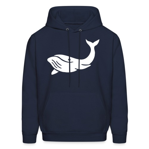 niles whale - Men's Hoodie