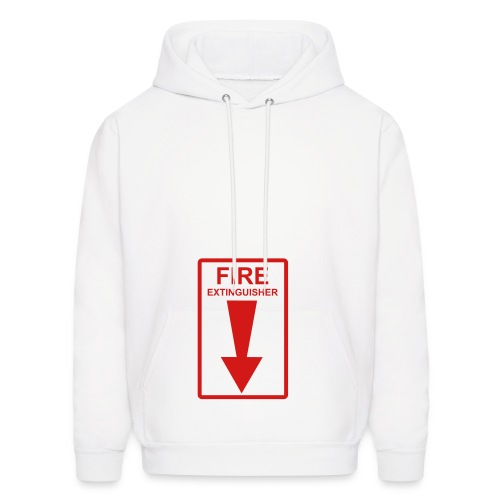 Fire Extingisher - Men's Hoodie
