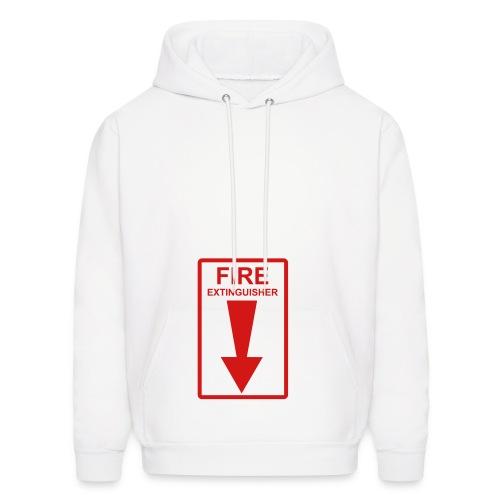 Fire Extingisher - Men's Hoodie