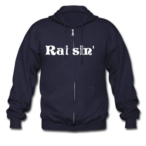 Raisin' split - Men's Zip Hoodie