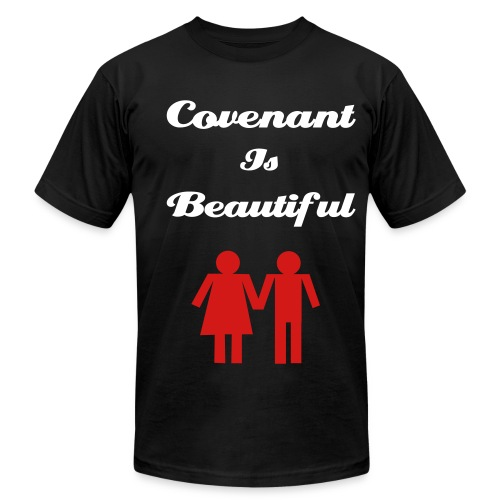 Covenant is Beautiful - Men's Fine Jersey T-Shirt