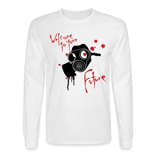 Men's Long Sleeve T-Shirt - Gas Mask