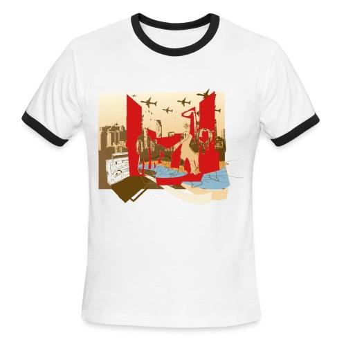 all together shirt - Men's Ringer T-Shirt