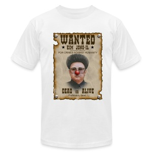 kim jong il north korea - Men's T-Shirt by American Apparel