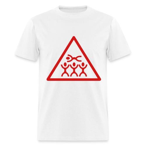 Crowd surfing t-shirt - Men's T-Shirt