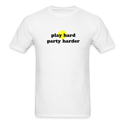 Play Hard Party Harder Lightweight T-Shirt - Men's T-Shirt
