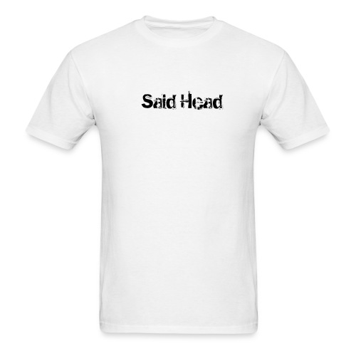 Said Head White Tee - Men's T-Shirt