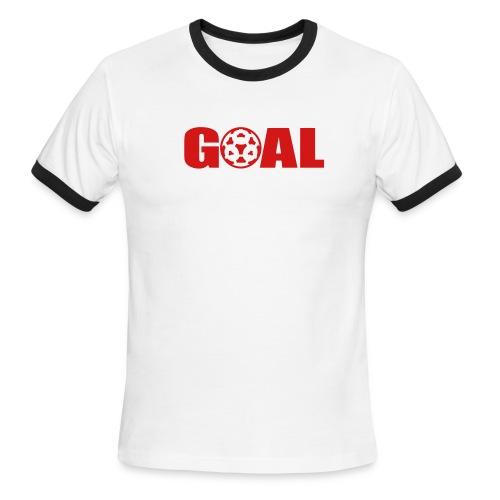 Camiseta Ringer Goal - Men's Ringer T-Shirt