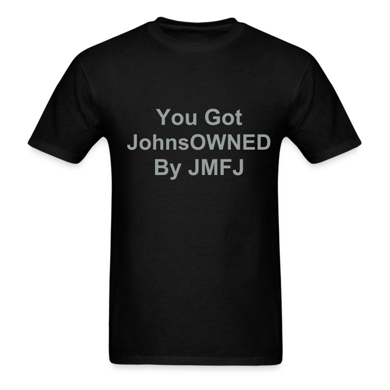 JohnsOWNED Silver - Men's T-Shirt
