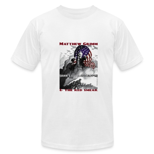 Dawn's Early Apocalypse in white, our best value! - Men's Fine Jersey T-Shirt