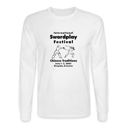 2007 Sword Festival Long Sleeve - Men's Long Sleeve T-Shirt