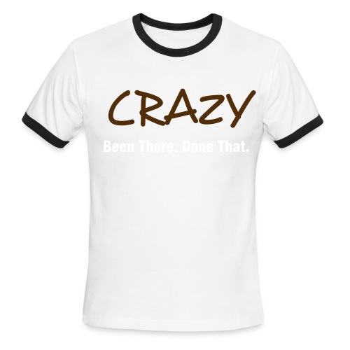 crazy2 - Men's Ringer T-Shirt