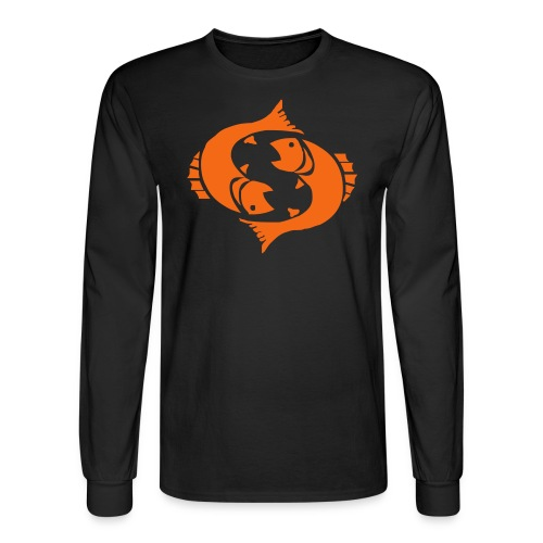 69 fish - Men's Long Sleeve T-Shirt