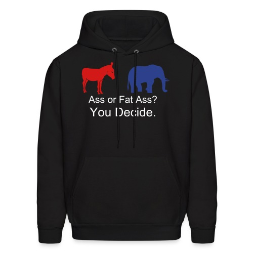 Guy's Political Sweatshirt - Men's Hoodie