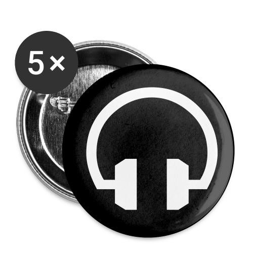 Headphones 5-Pack Small Buttons - Small Buttons