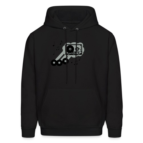 music cloud hoodie - Men's Hoodie