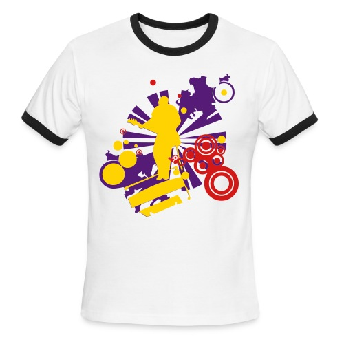 T-shirt Music - Men's Ringer T-Shirt