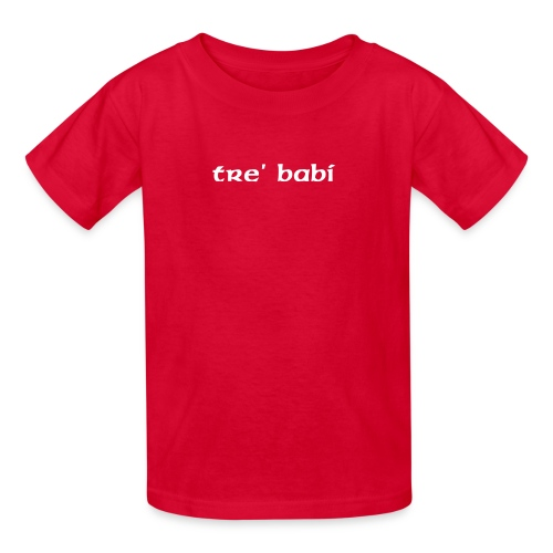 tre' babi - Kids' T-Shirt