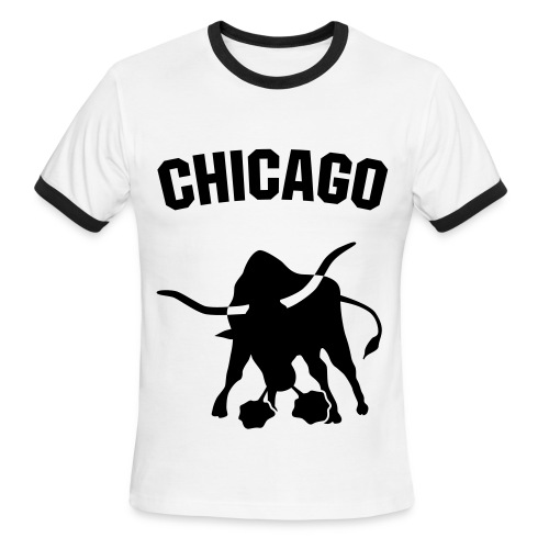 Bulls T-Shirt - Men's Ringer T-Shirt