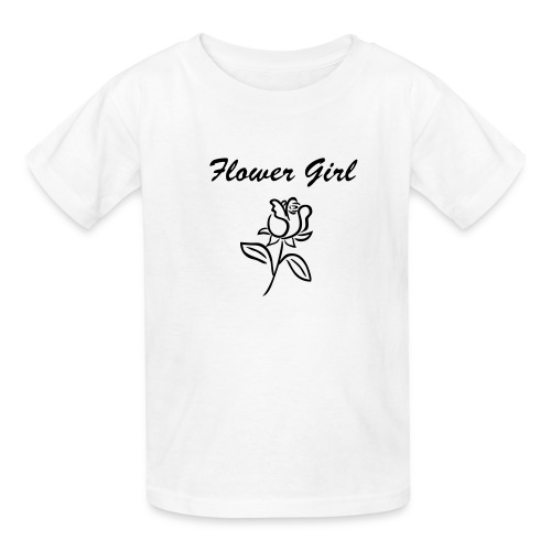 Flower Girl Shirt - Kids' T-Shirt