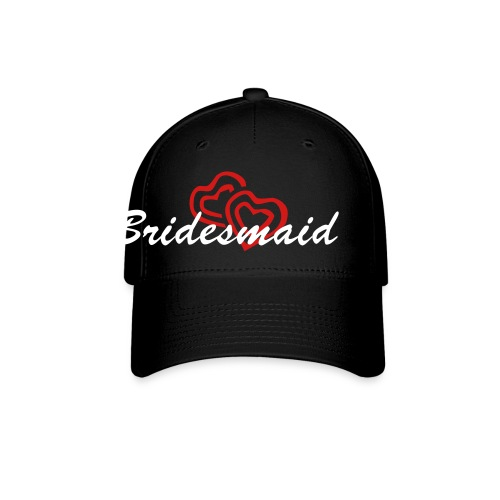 Bridesmaid Double Heart Cap - Baseball Cap