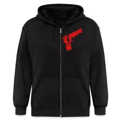 Men's Guns - Men's Zip Hoodie