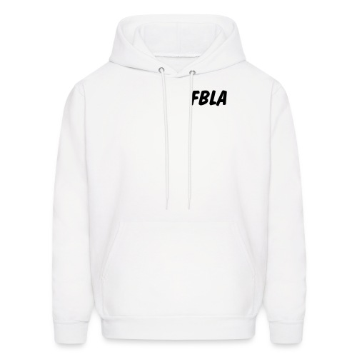 Men's Hoodie - An FBLA Sweatshirt with the Words We Mean Business on the back.