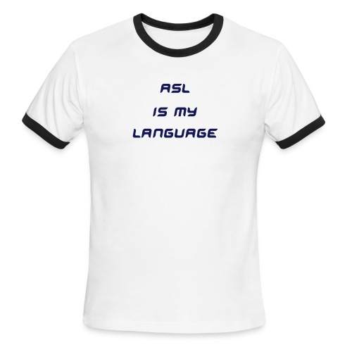 ASL - Men's Ringer T-Shirt