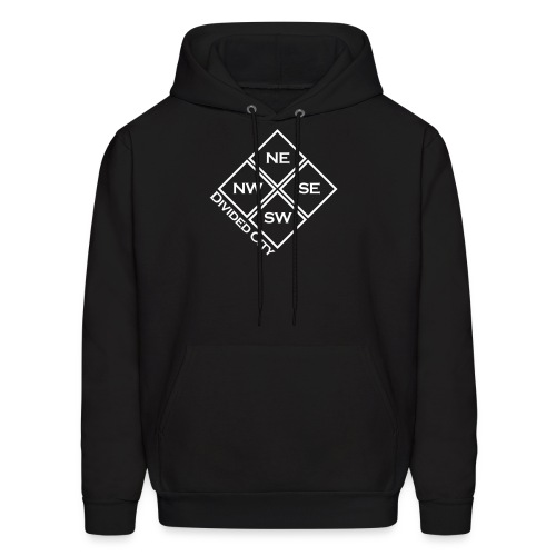 [Black Divided City Hoody] - Men's Hoodie