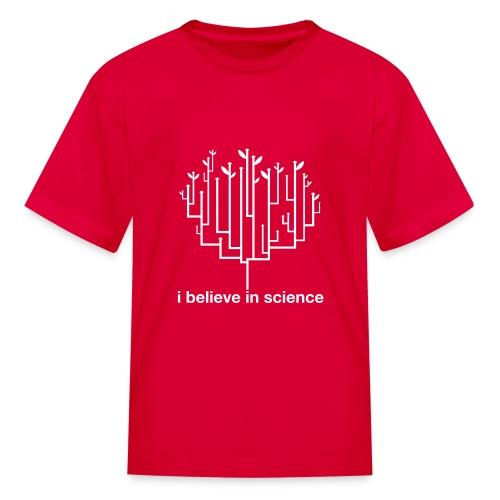 Kid's Tree of Life: Red - Kids' T-Shirt