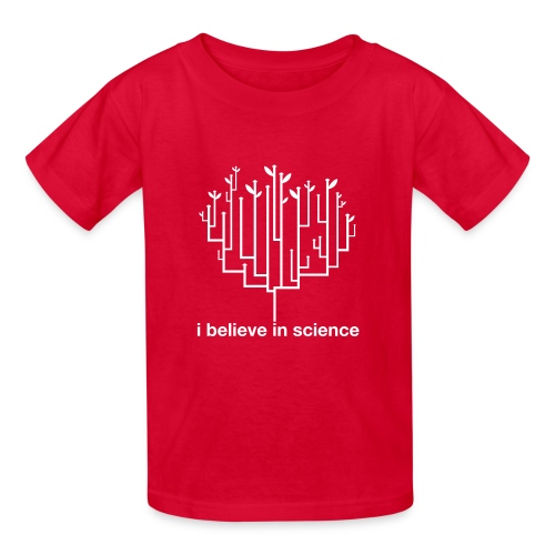 Kid's Tree of Life: Red - Kids' T-Shirt