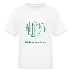 Kid's Tree of Life: White (Green) - Kids' T-Shirt