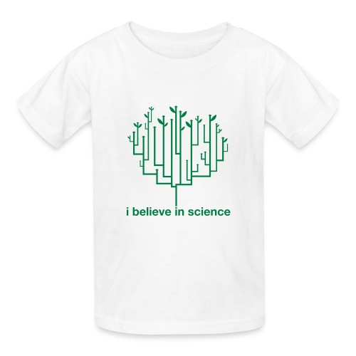 Kid's Tree of Life: White (Green) - Kids' T-Shirt