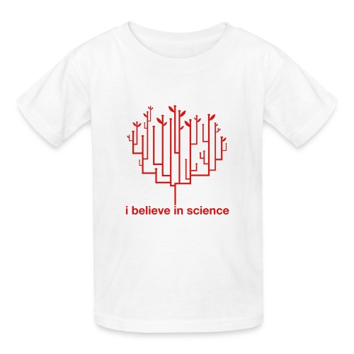 Kid's Tree of Life: White (Red) - Kids' T-Shirt